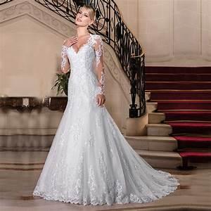 Aliexpress.com : Buy Vestido de Noiva 2017 Sexy Lace Long ...