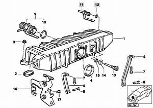 Original Parts For E36 320i M50 Sedan    Engine   Intake Manifold System