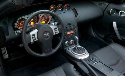nissan 350z interior car and driver