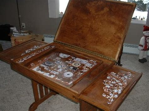 puzzle table with drawers coffee tables ideas stunning puzzle coffee table jigsaw