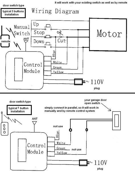 Chamberlain Garage Door Wiring Diagram Free