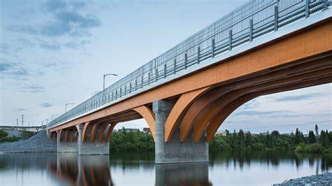 portee d un pont pont maicasagi le bois au profit de l ing 233 nierie r 233 seau espace bois