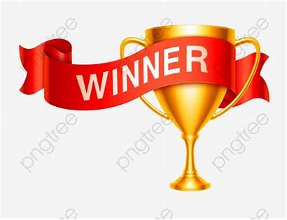 Winner Winners Clipart Trophy Contest Trofeo Award