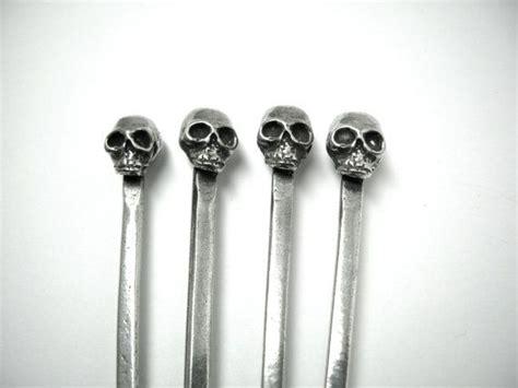Skull Swizzle Sticks, Swizzle Stick, Stir Sticks, Skull