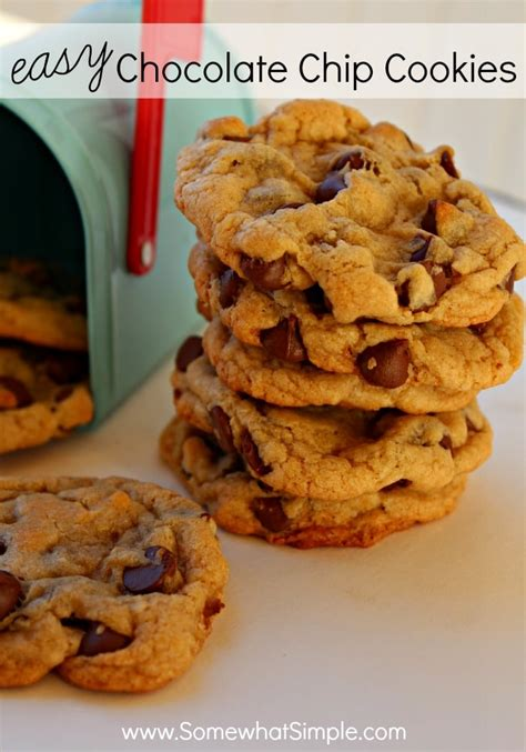 easy chocolate chip cookies somewhat simple