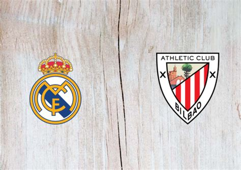 Real Madrid vs Athletic Club Full Match & Highlights 14 ...