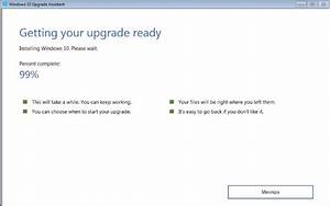 How To Fix Windows 10 Upgrade Stuck At 99  Issue
