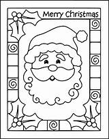 Coloring Christmas Printable Card Pages Getcoloringpages Colorings Getcolorings Getdrawings sketch template