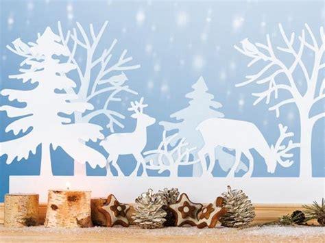 Weihnachtsdeko Basteln Papier Fenster by Bastelideen Fensterbilder Zu Weihnachten Deko