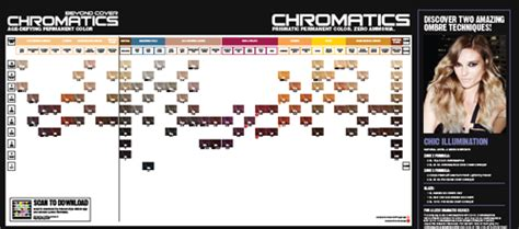 Redken Chromatics Shade Chart And Instructions 1