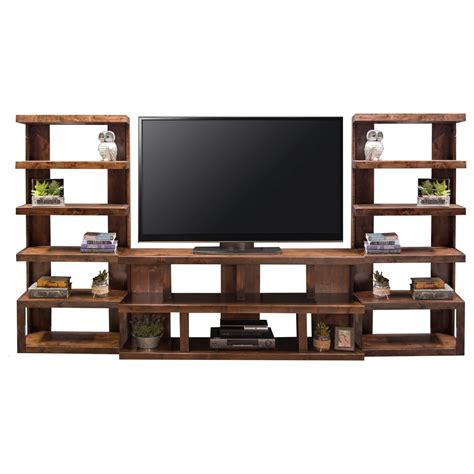 Legends Furniture Sausalito Modern Entertainment Wall Unit