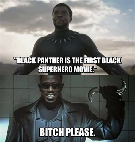 Black Panther Memes - byrne robotics the first black superhero at the movies
