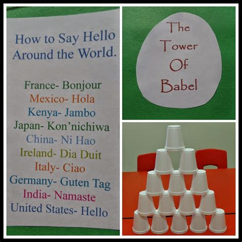 april s homemaking simply sunday school tower of babel 790 | b2313a6240d4a4cde49e8a2a9a0109dd