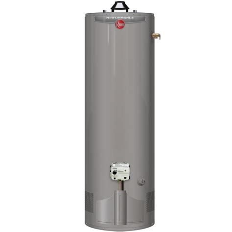 55 gallon gas water heater rheem performance 55 gal 6 year 45 000 btu uln 7364