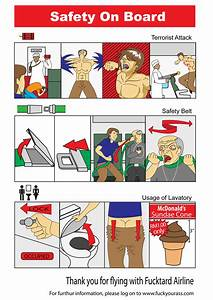 Airplane Safety Manual Pg 2 By K0k0puff On Deviantart