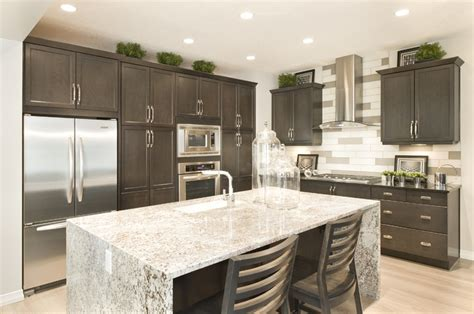 marble island kitchen 12 best images about waterfall island pieces on 4005