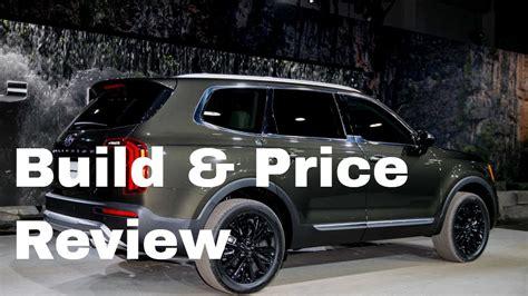 2020 Kia Telluride Build And Price by 2020 Kia Telluride Ex Awd Suv Build Price Review