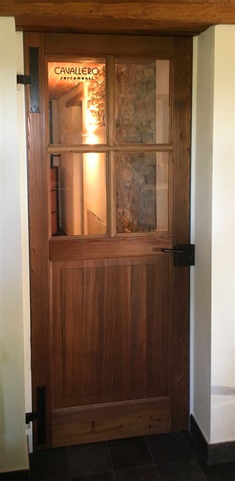Porte Interne Senza Telaio - porta interna in legno larice bio senza telaio cardini a muro