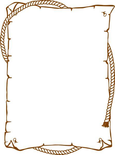 cowboy rope border clip art  clkercom vector clip art