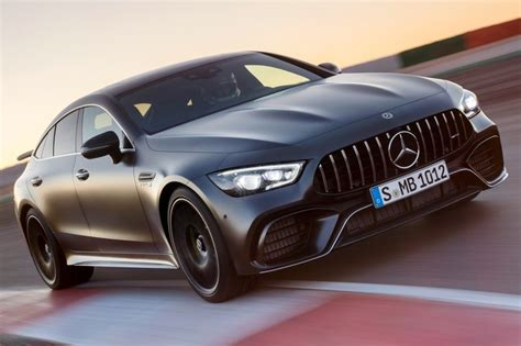 Handcrafted amg 4.0l v8 biturbo engine, 15/20 mpg. Mercedes-Benz AMG GT 4 puertas Coupé 2019