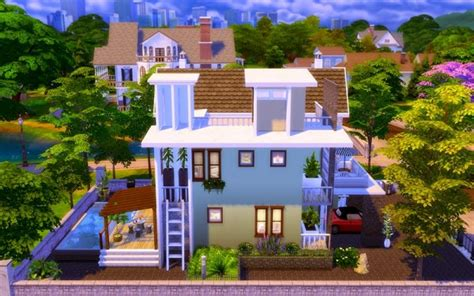 homeless sims contemporary modern house sims 4 downloads