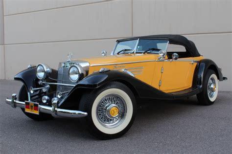 Seller of Classic Cars - 1936 Replica/Kit Makes Mercedes ...