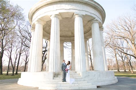 dc war memorial picnic wedding united  love