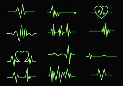 Heart Vector Monitor Cardiogram Line Clipart Beat