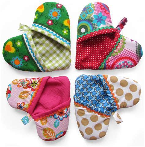 handwerkjuffie handige ovenwant ovenwant pannenlap naaien knutselen