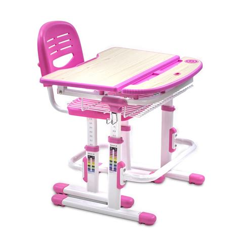 childrens desk and chair set school workstation