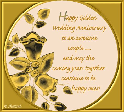 golden anniversary couple    couple ecards greeting cards
