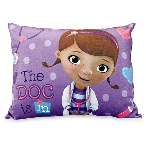 doc mcstuffins pillow disney docmcstuffins bed pillow