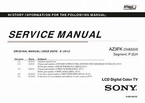 Sony Kdl-55ex630  Klv-55ex630 Service Manual