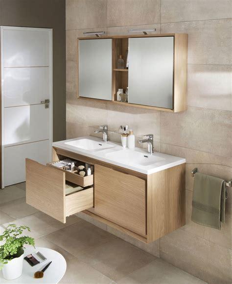 meuble bas salle de bain lapeyre