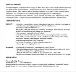 resume format for security guard security guard resume 7 free free documents in pdf word