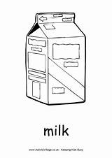 Milk Colouring Pages Activity Village Explore Activityvillage sketch template