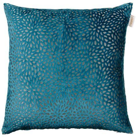 Westminster Velvet Oversized Cushion   Teal   Cushions   B&M