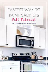 how to paint kitchen cabinets 671