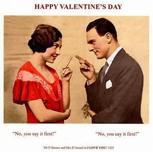 Funny You Say It First Happy Valentines Day Greeting Card ...