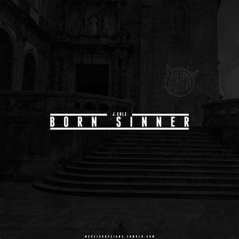 J. Cole Born Sinner Album Cover
