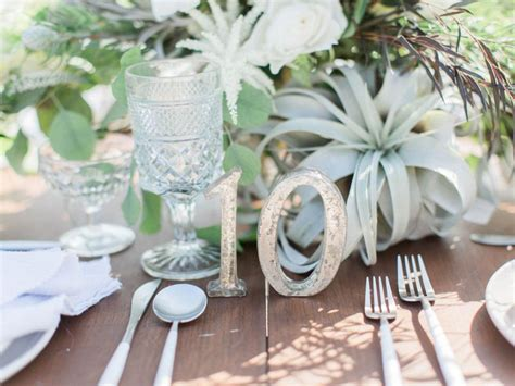 30 Diy Wedding Table Number Ideas Diy