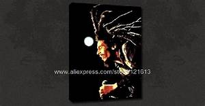 Bob Marley Iconic Music Funky Canvas Pop Art Poster Modern ...