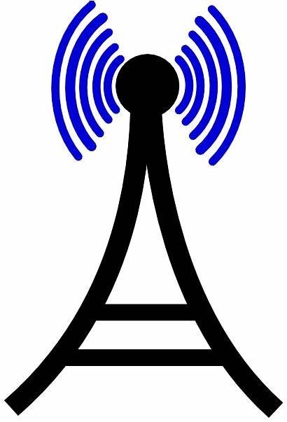Tower Clipart Cell Phone Broadcasting Clip Broadcast