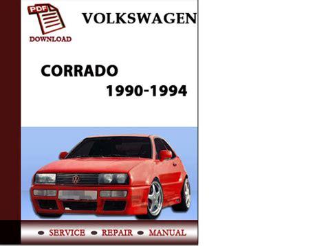 free car repair manuals 1990 volkswagen corrado regenerative braking volkswagen corrado 1990 1991 1992 1993 1994 workshop service repair