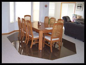 plastic mat for under dining table office chair mats