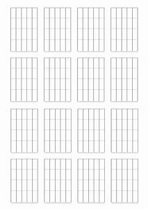 Tablatures Et Partitions De Guitare Vierges  U00e0 Imprimer  Gratuit