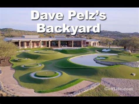 Backyard Golf Drills by Go Inside Dave Pelz S Legendary Backyard