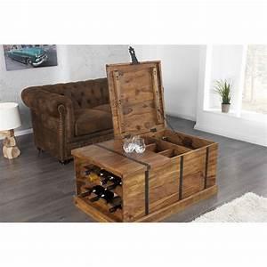Table Basse Bois Moderne : table basse moderne en bois coloris naturel table basse en bois table basse salon ~ Melissatoandfro.com Idées de Décoration