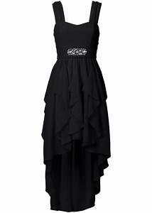 Bon Prix De : geschmackvolles kleid mit schmucksteinen schwarz ~ Orissabook.com Haus und Dekorationen