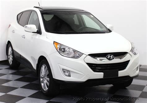 The 2012 hyundai tucson is ranked #5 in 2012 affordable compact suvs by u.s. 2012 Used Hyundai Tucson CERTIFIED TUCSON LIMITED AWD ...